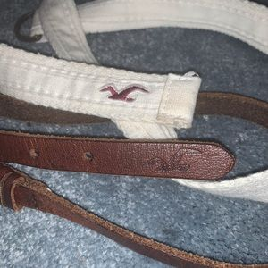 Two Hollister Belts Size Xs/S